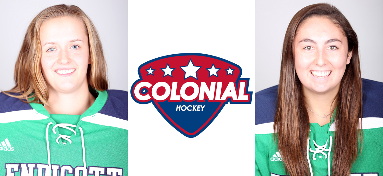 Jonsson, Layo Pick Up Colonial Hockey Conference Weekly Awards