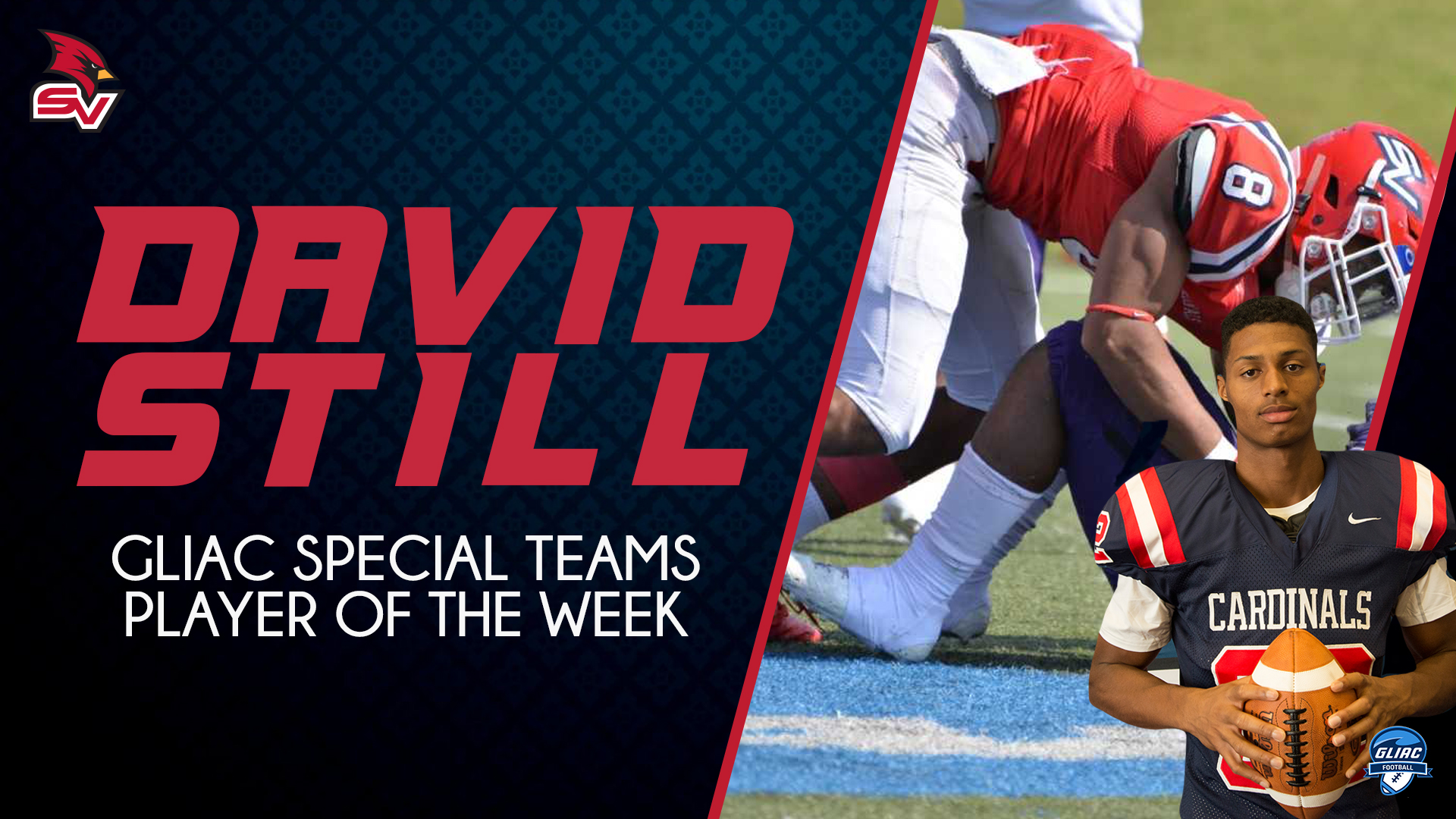 David Still Named GLIAC Special Teams Player of the Week