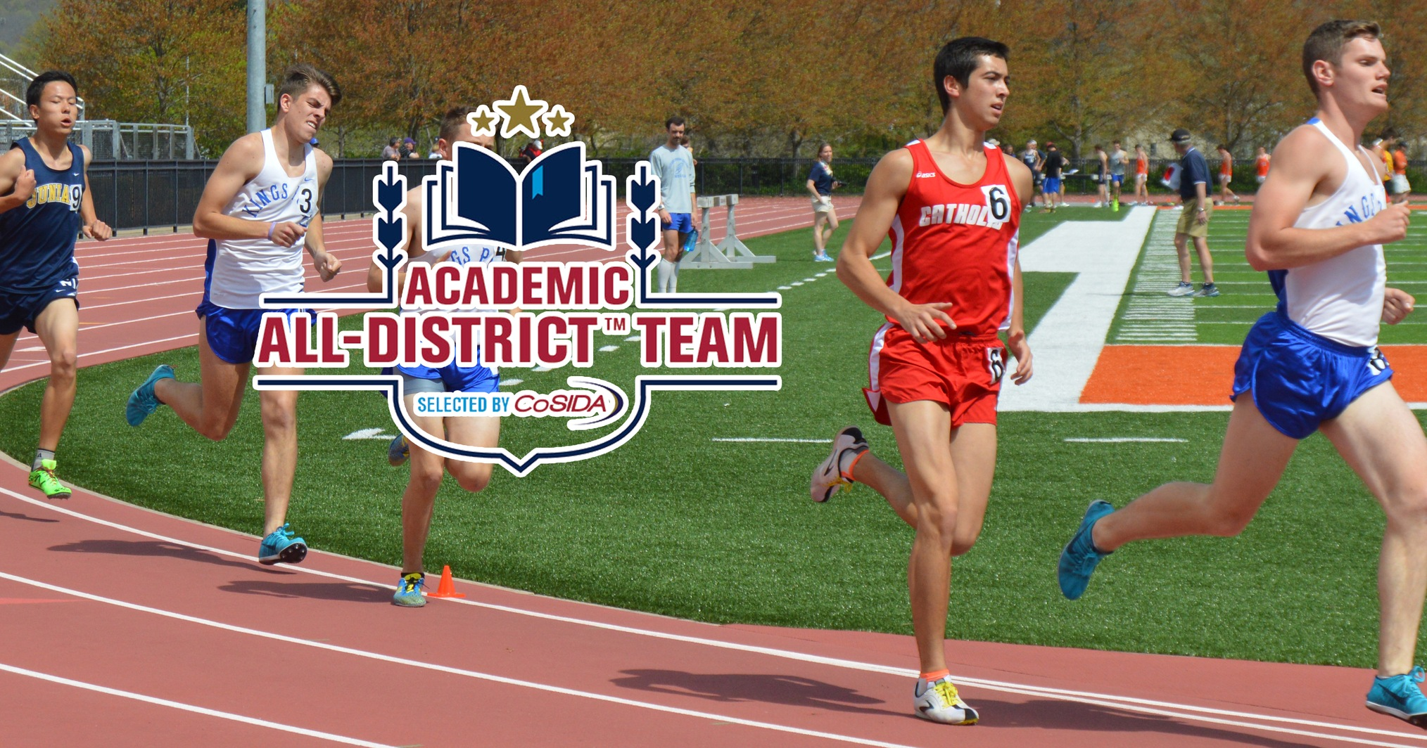 Jones Selected to CoSIDA Academic All-District Team