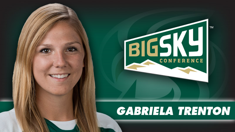 TRENTON NAMED CO-BIG SKY SOCCER OFFENSIVE PLAYER OF THE WEEK