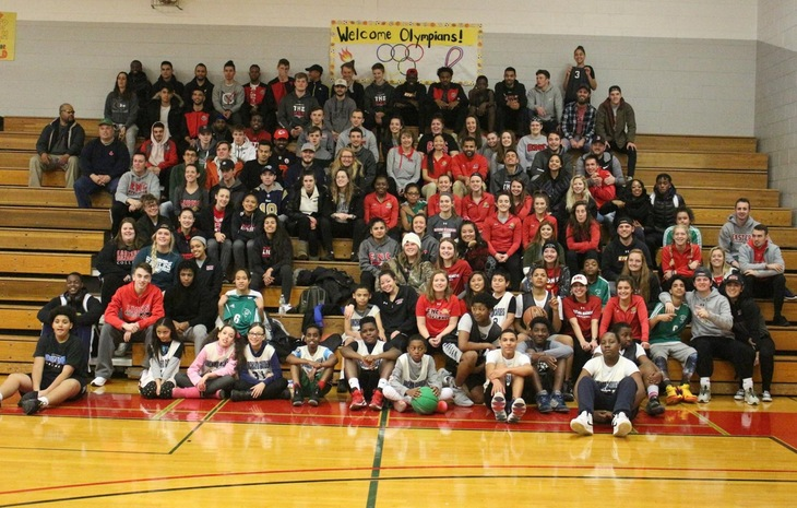 ENC Student-Athlete Advisory Committee Hosts Special Olympic Unified Basketball Games