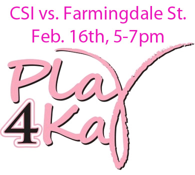 Rams to Host 4th Annual Play4Kay Night