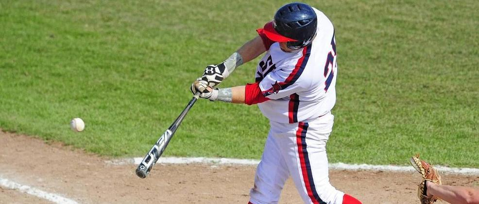 Kyle Kaufmann a single, two runs and two RBIs in the 12-4 victory over Lake Erie