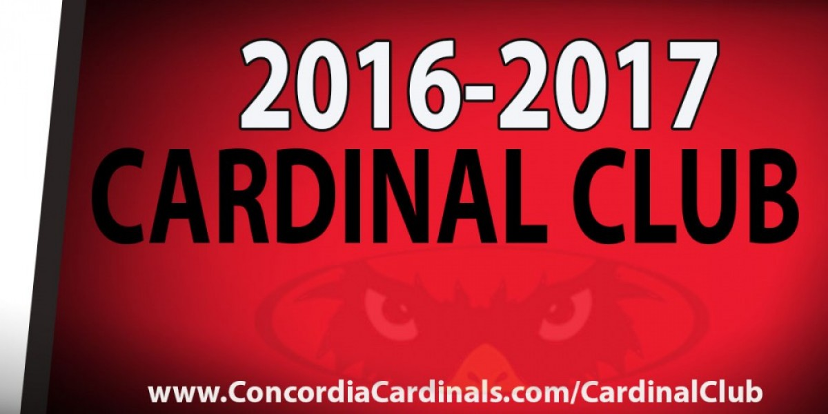 Cardinal Club memberships now available for 16-17 year - Concordia