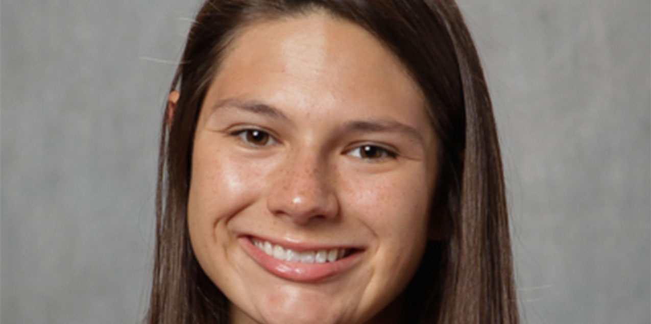 Morgan Reyna, Trinity University, Swimmer of the Week (Week 3)