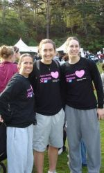 Women's Basketball Raises Over $3000 For Breast Cancer Research