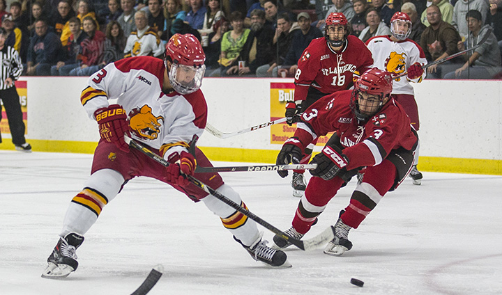 Ferris State Hockey To Play First-Ever WCHA Contests This Weekend At Alabama-Huntsville