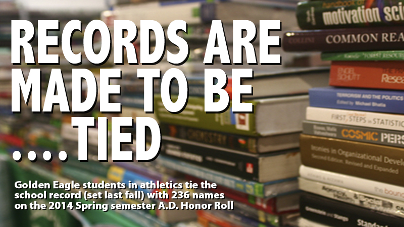 Tech's Spring A.D. Honor Roll lists 236 names to tie school record