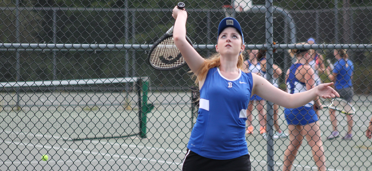 Women's Tennis Tames Leopards 5-4