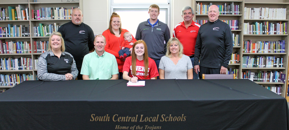 South Central's Sweeting Becomes Initial Member of 2016-17 Owens Volleyball Recruiting Class