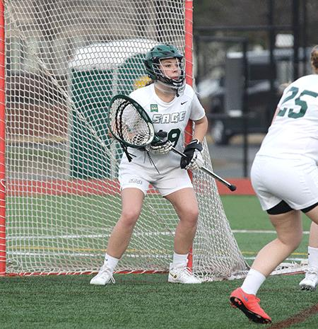Record setting day as Sage beats SVC, 17-4 in women's lacrosse action