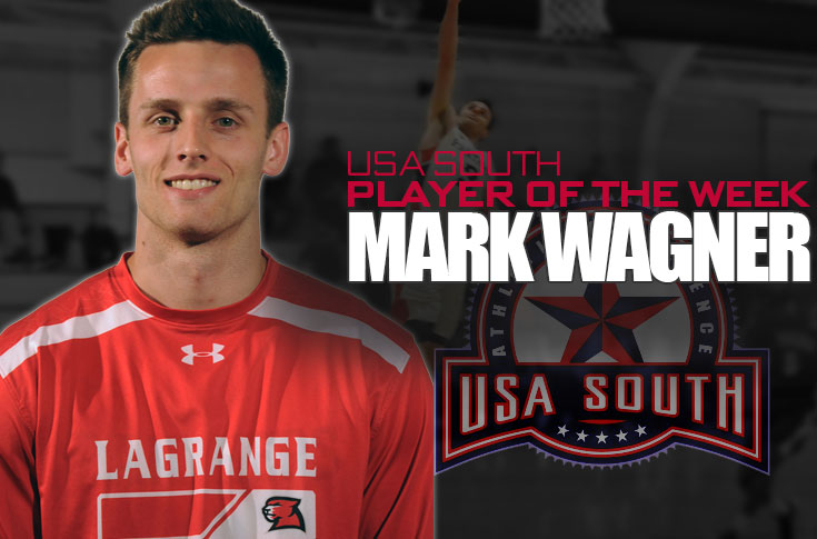 Men's Basketball: Mark Wagner named USA South Men's Basketball Player of the Week
