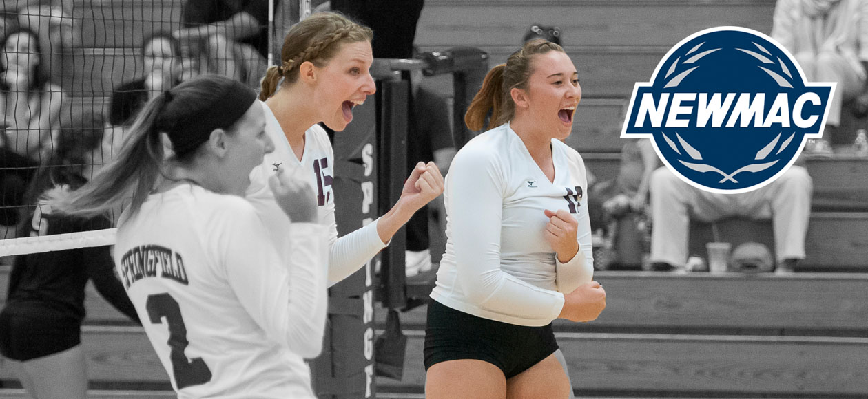 Helgesen and Holt Sweep NEWMAC Women's Volleyball Weekly Accolades