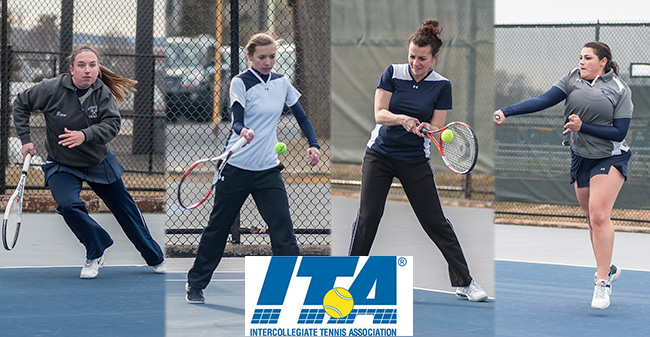 Four Women's Tennis Players Named ITA Scholar-Athletes