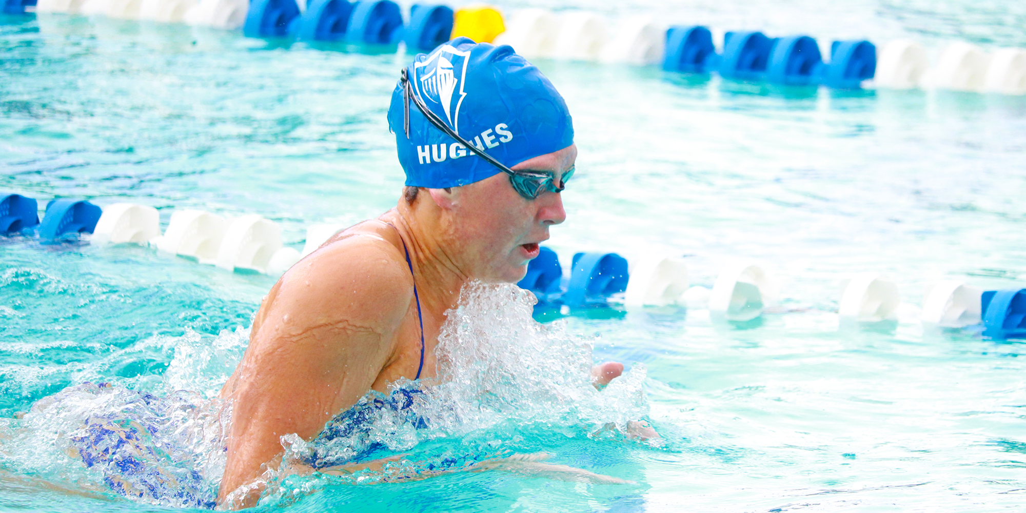 Hughes Named SSC Swimmer of the Week