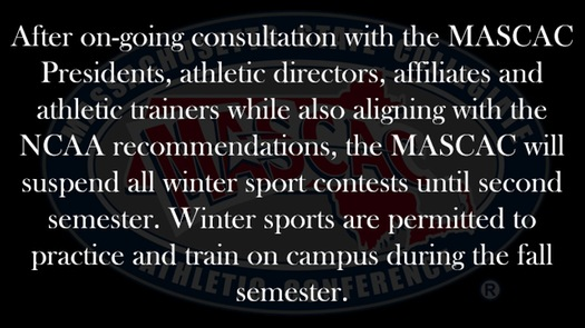 MASCAC Update on Fall Semester Competition