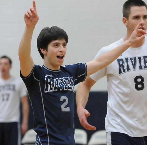 Rivier sweeps Emerson in Men's Volleyball action