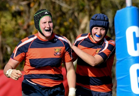 Women's Rugby Advances to Elite Eight at USA Rugby DII Fall Championship
