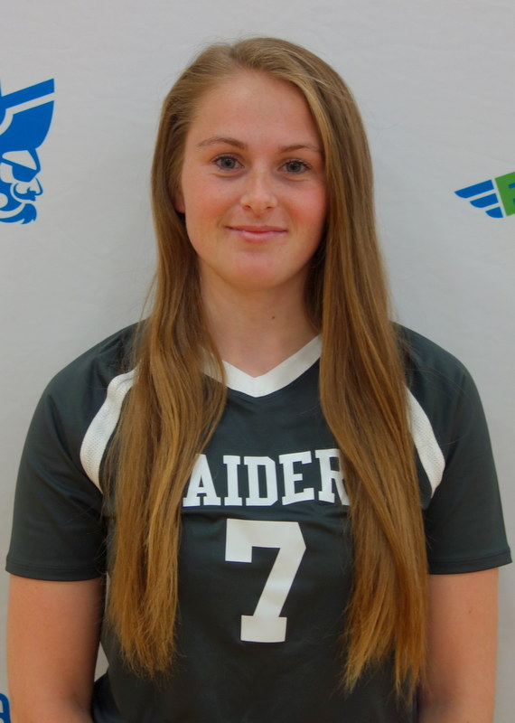 Gabrielle Smith-Volleyball-Female Raider of the Month, September 2017