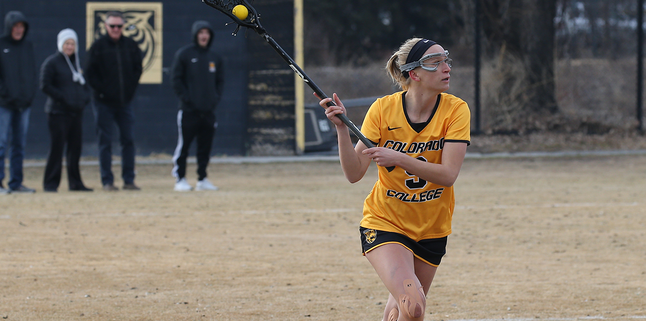 Ellie Meyer, Colorado College, Defensive Player of the Week (Week 10)
