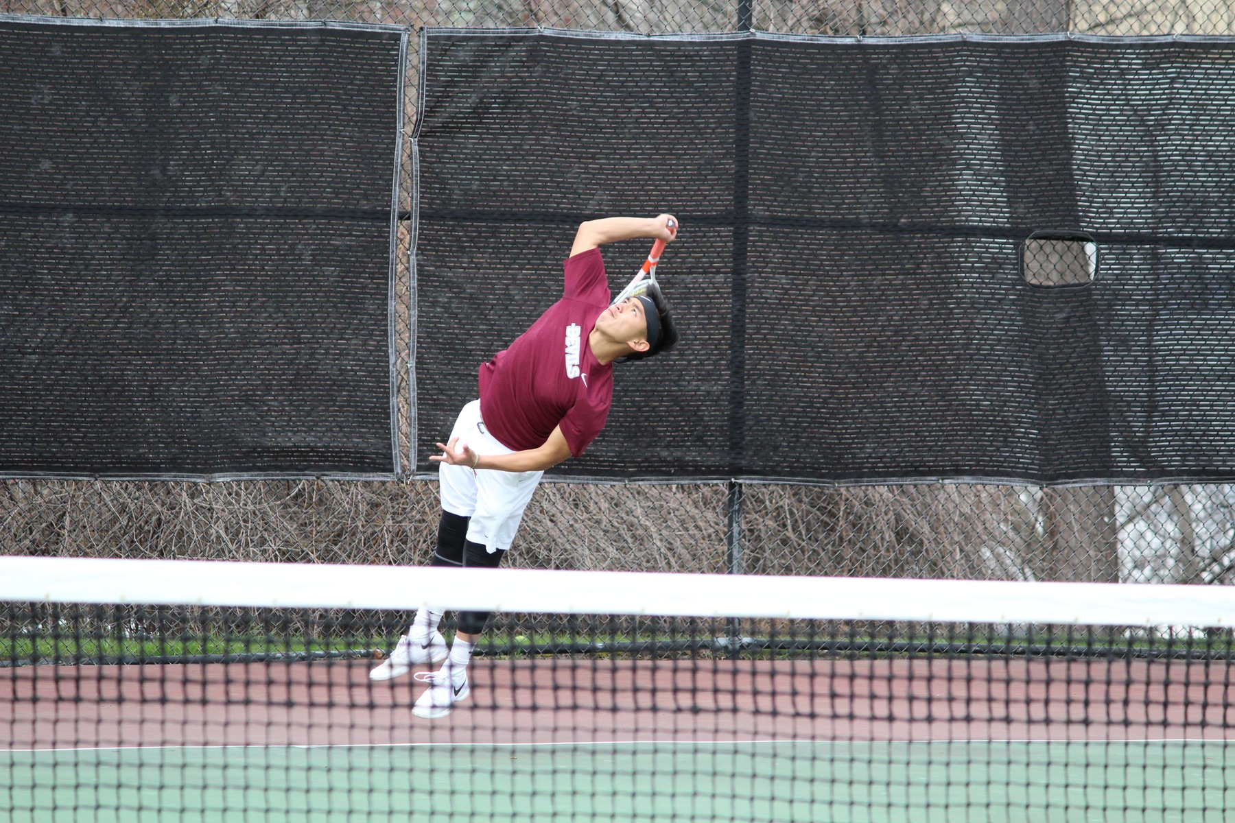 Devils Tennis Drops Final CACC Match To Chestnut Hill