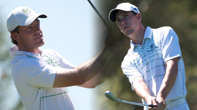 WILLIAMS, WEIR BOTH INVITED TO NCAA MEN'S GOLF REGIONAL