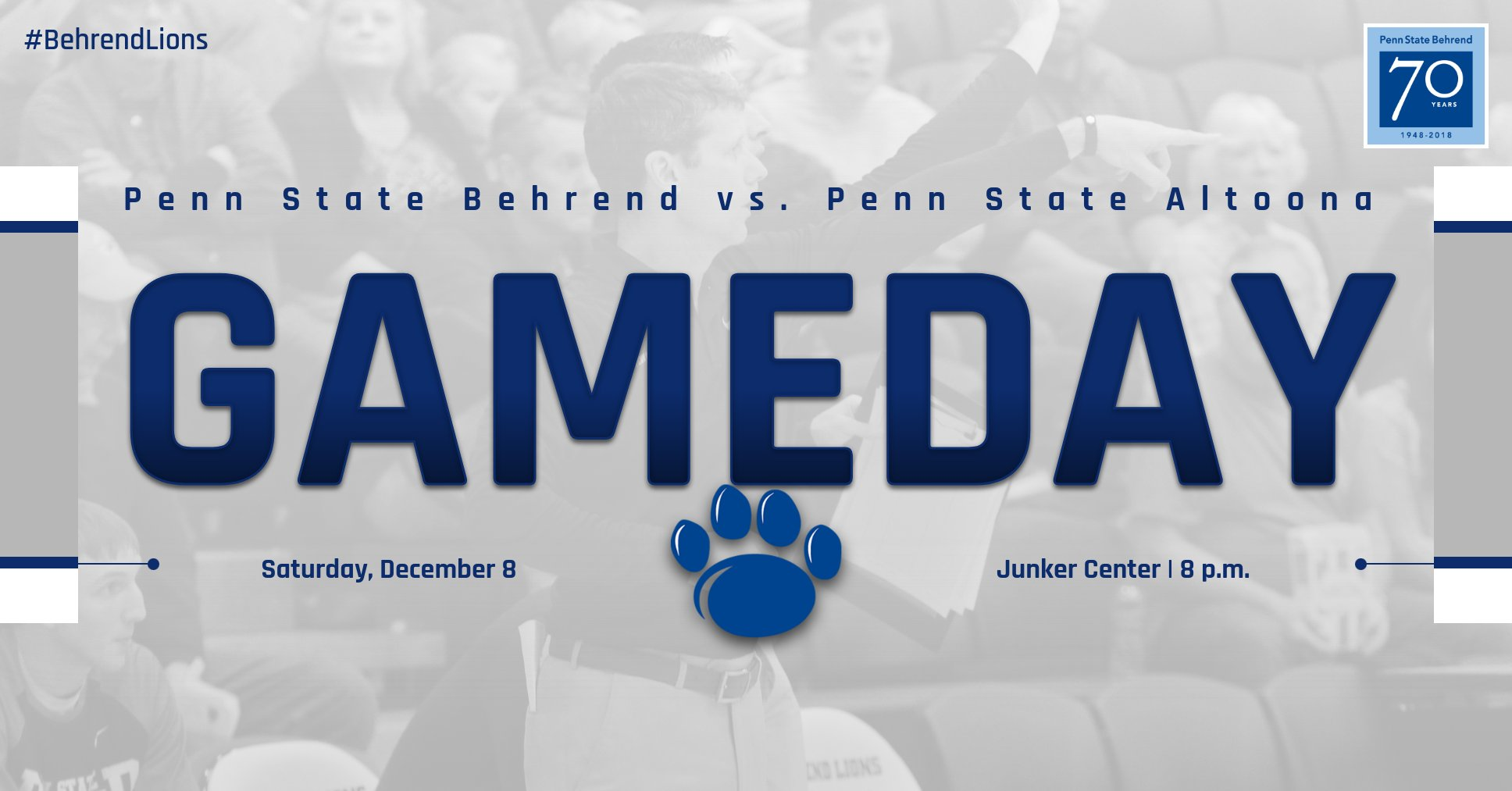 Behrend Lions Hosts Penn State Altoona on Saturday