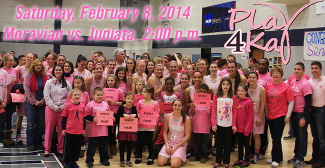 Moravian College's 2014 Play 4Kay Week Set for February 2-8