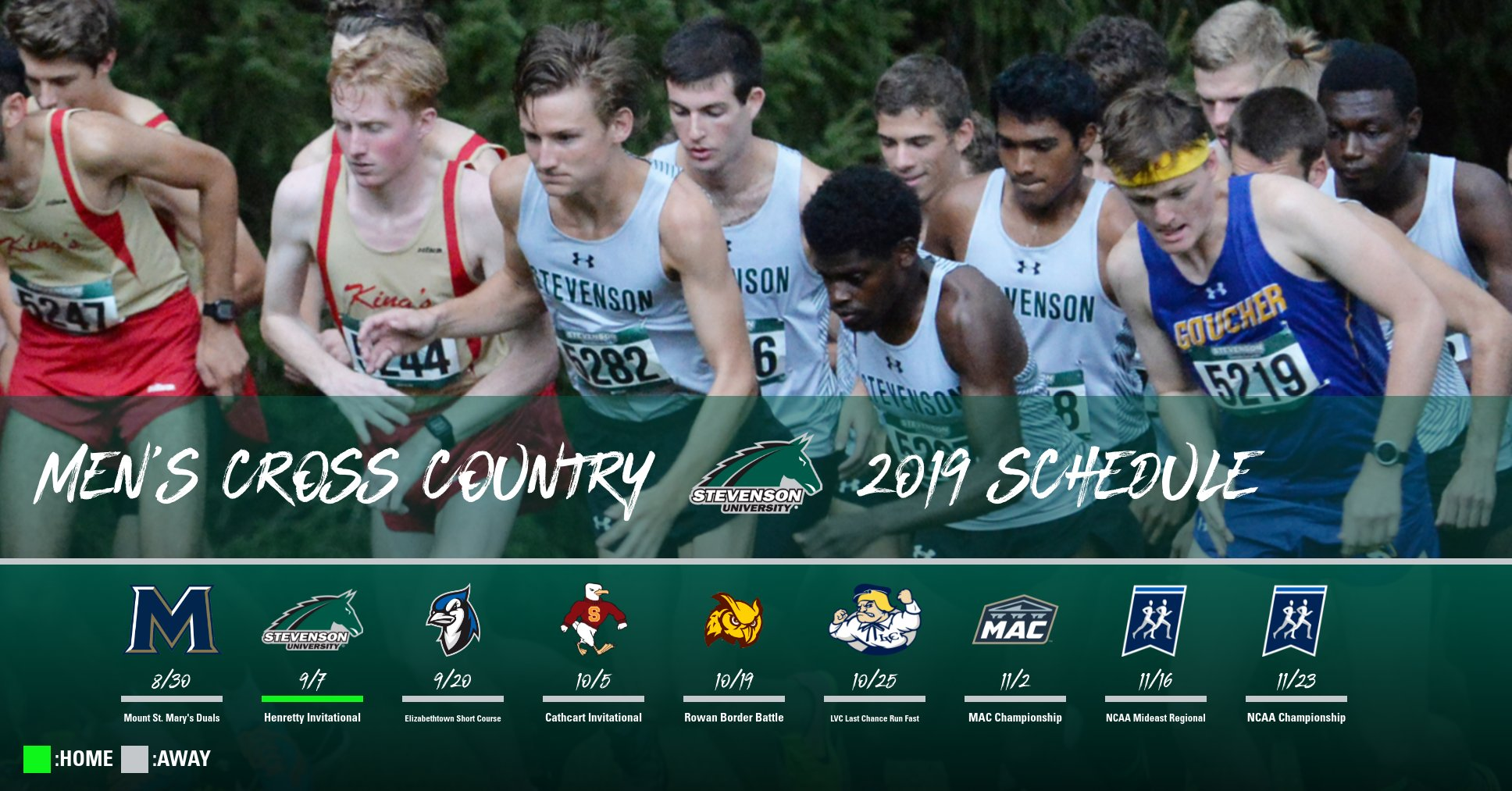 Men's Cross Country Opens August 30