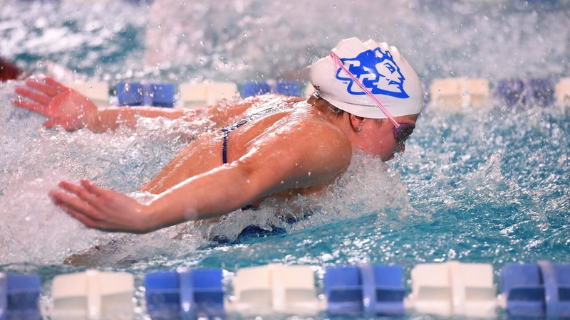 Valentina Gomez Named Northeast Conference Swimmer of the Week