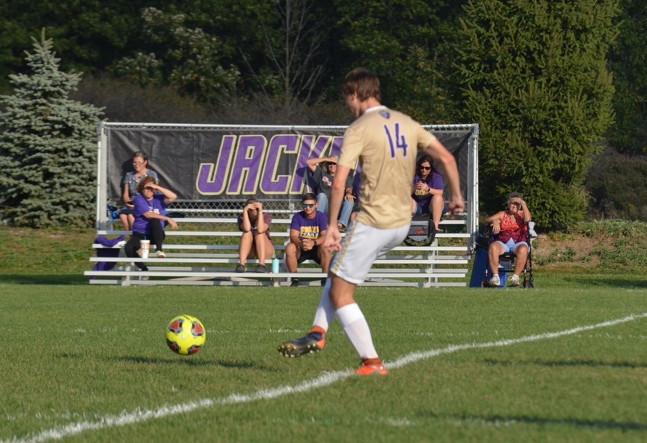 Men's Soccer Falls Short to Edgewood in Overtime