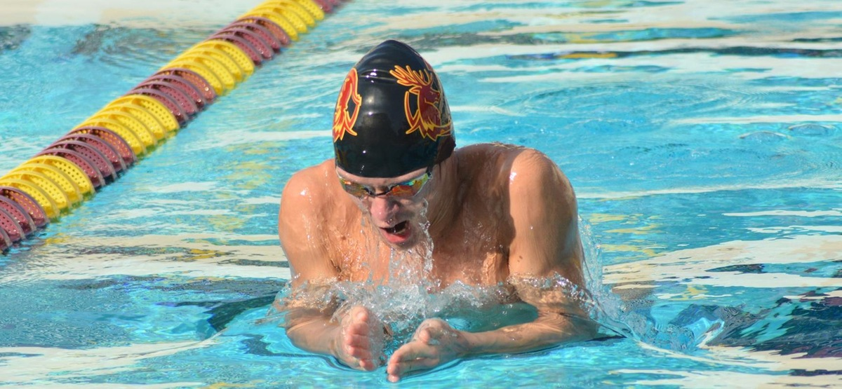 CMS Men's Swimming and Diving Rolls to Two SCIAC Wins over Occidental, Caltech