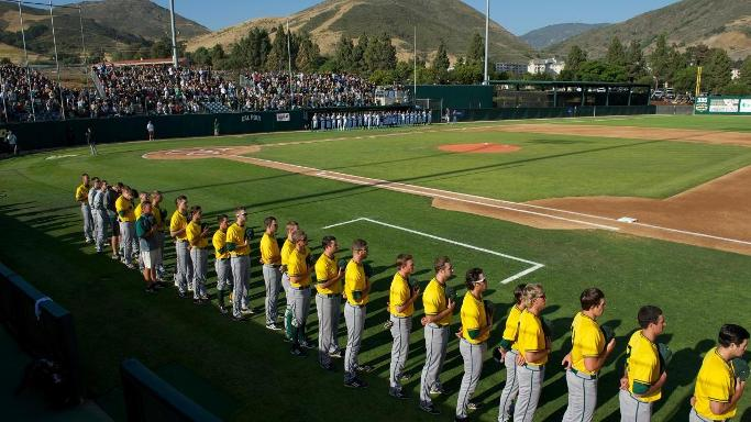 BASEBALL FALLS TO #5 CAL POLY IN NCAA REGIONAL OPENER, 4-2