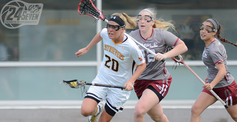 Three Hat Tricks Push Women's Lacrosse past Temple