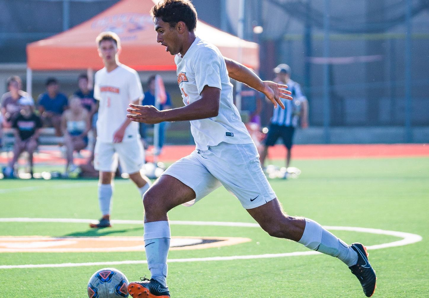 Johnson Gives Men's Soccer Chance to Rally at Cal Lutheran