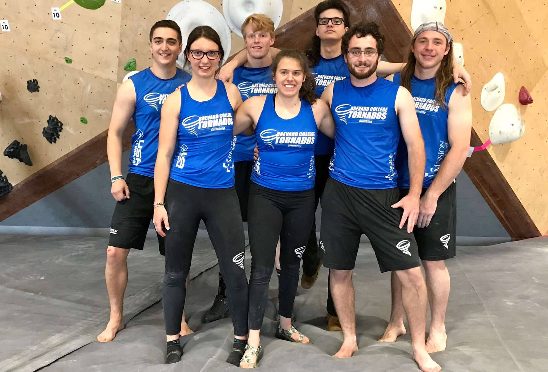 Altman Qualifies for Nationals, Brevard College Places Sixth at USA Climbing Regional Championships
