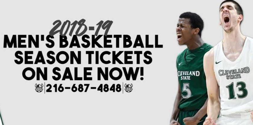 Cleveland State Basketball Season Tickets Now on Sale