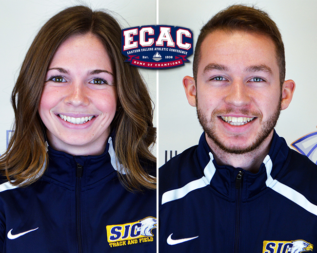 Holownia, Linbrunner Nab ECAC Athlete of the Week Honors