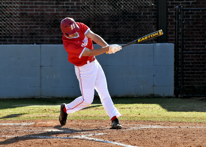 Garrett Headley scored two runs in Huntingdon's 6-2 win over Millsaps on Saturday.