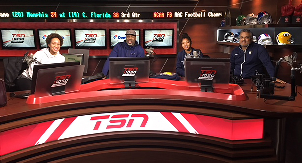SHARMA AND NOFUENTE APPEAR ON TSN HOME COURT