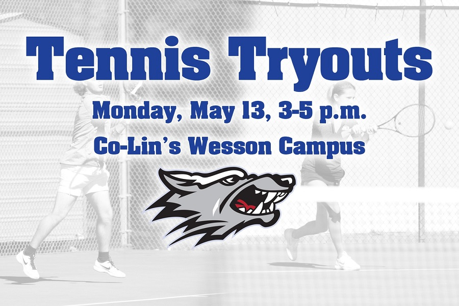 Co-Lin schedules open men's and women's tennis tryouts
