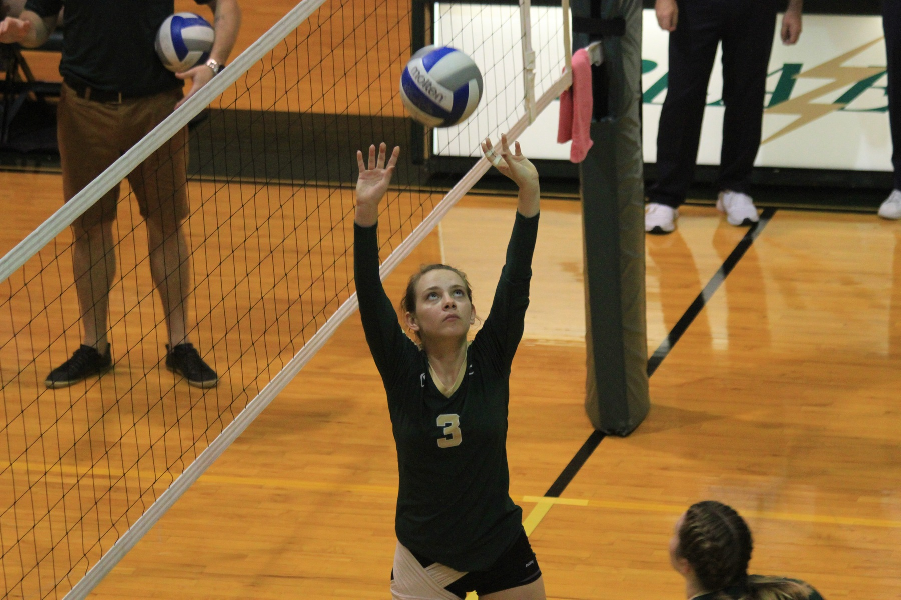 Women's Volleyball Dominates On The Road At Albertus Magnus