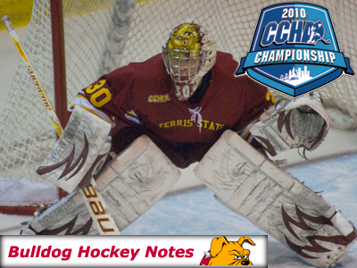 Weekly Game Notes-CCHA Playoffs Second Round: Nebraska-Omaha at Ferris State