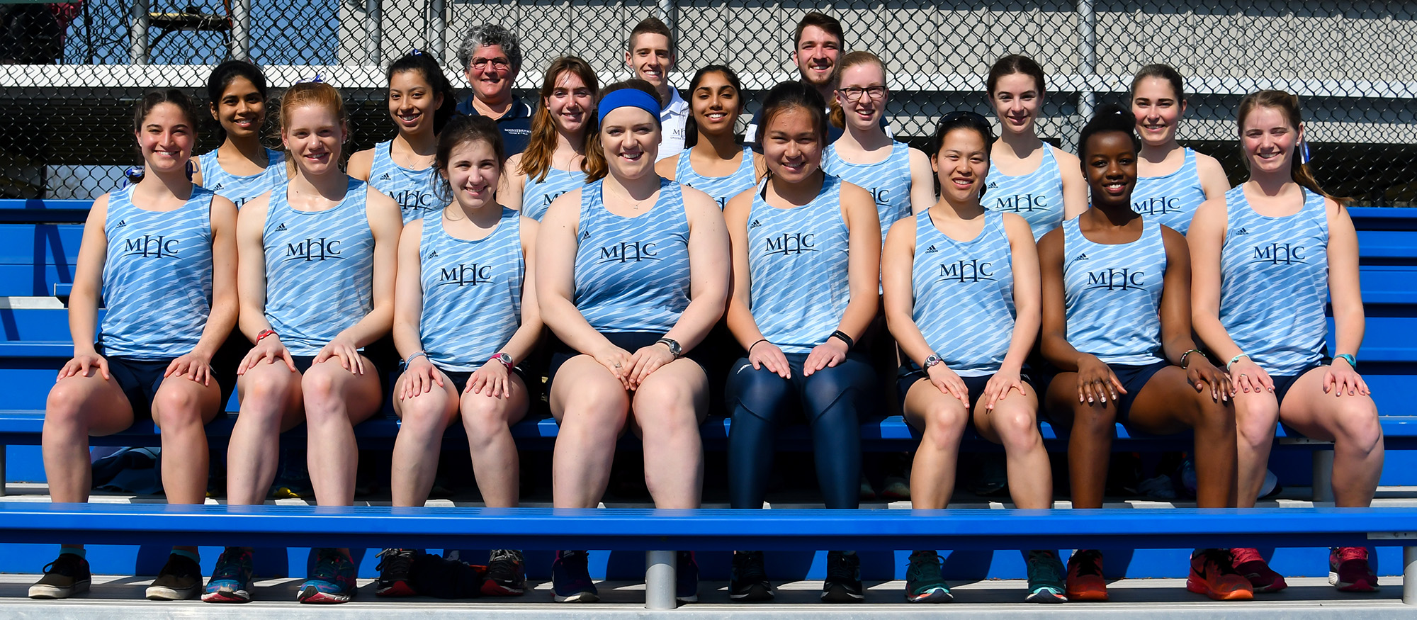 2017-18 Mount Holyoke Outdoor Track & Field Team photo