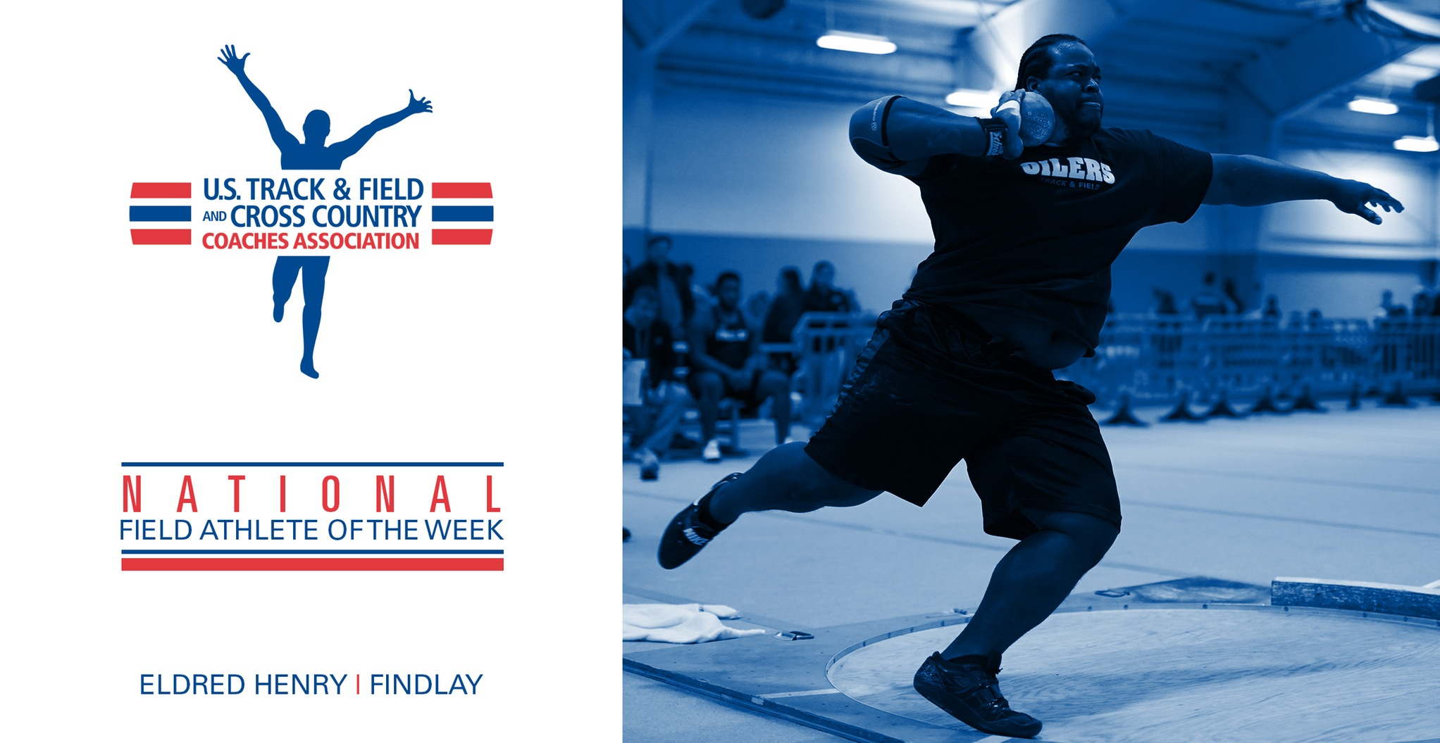 Henry Named National Field Athlete of the Week