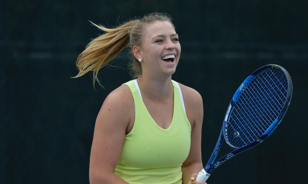 WOMEN'S TENNIS TAKES DOWN SEATTLE U, 5-2, IN FINAL NON-CONFERENCE MATCH; CLINCH SPOT IN BIG SKY POSTSEASON TOURNAMENT