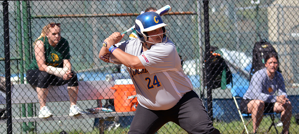Softball Battles to a Split with Felician in CACC Doubleheader