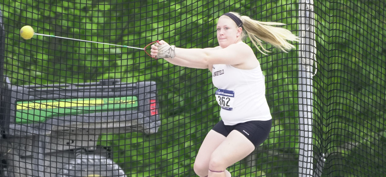 Markos Takes Sixth in Hammer at NCAA Championships To Earn All-America Honors