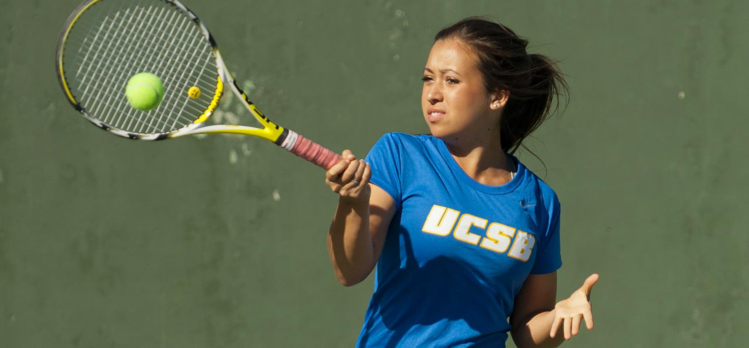 "Cano, Yam Advance to ""B"" Flight Doubles Final as Gauchos Continue Play at Fullerton Tournament"