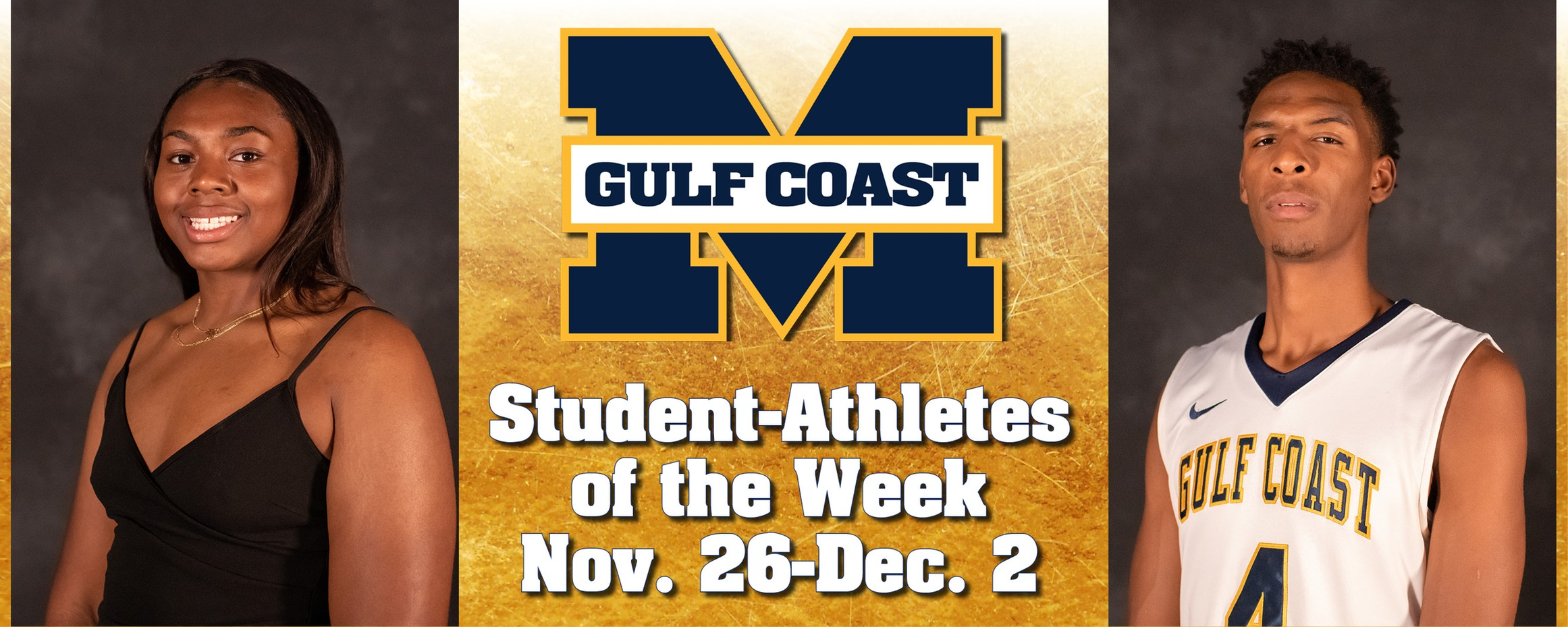 Simmons, Moorer named MGCCC Student-Athletes of the Week
